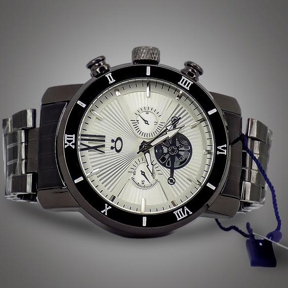 Relógio Orizom Masculino Mod: Rsa4 Em Aço Barato