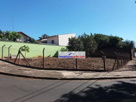 Excelente Terreno De Esquina No Residencial Burato - Barão Geraldo. - Te0295