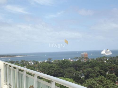 Apartamento En Punta Del Este, Roosevelt- Ref: 80