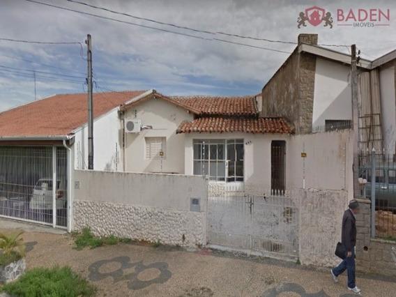 Casa Comercial Em Campinas - Sp, Bonfim - Ca00808
