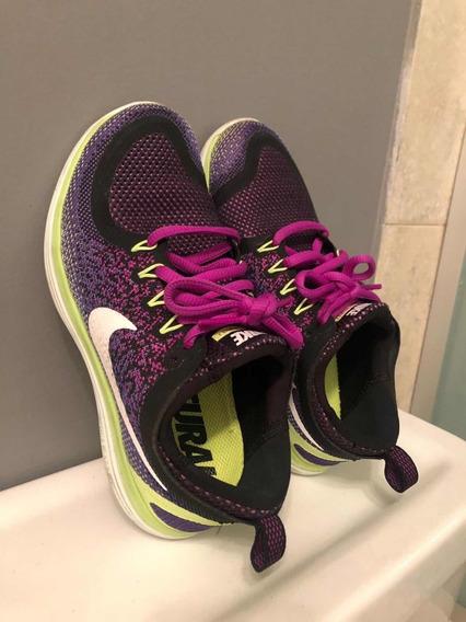 Zapatillas Nike Mujer Running Talle Us 5