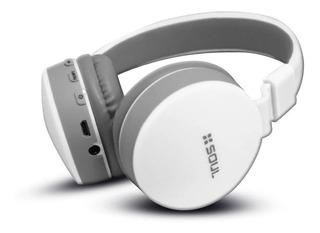 Auriculares inalámbricos Soul S600 blanco y gris