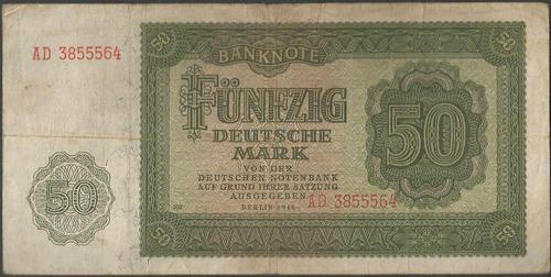 Alemania Democratica 50 Mark 1948 P14b