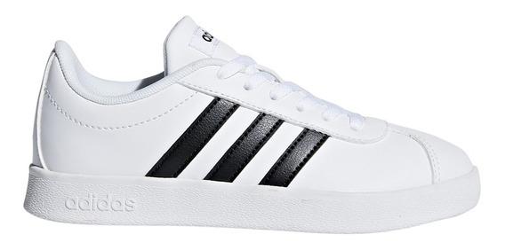 Zapatillas adidas Moda Vl Court 2.0 K Bl/ng