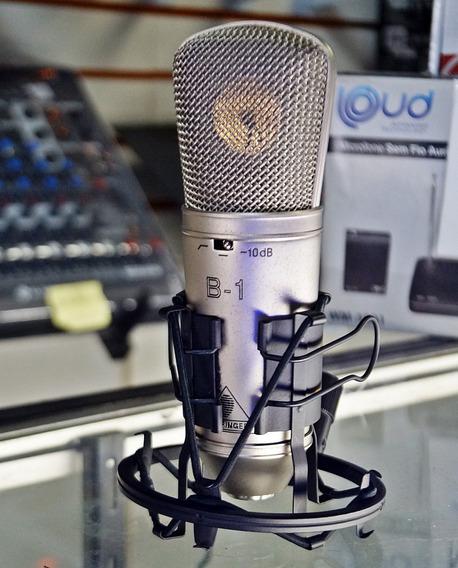Microfone Condensador Behringer B-1 Com Frete Gratis Otimo