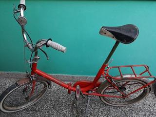 Antigua Bicicleta Aurorita Plegable Rodado 20