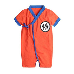 Pauboli Baby Kimono Bodysuit Cotton Summer Romper Outfits (1