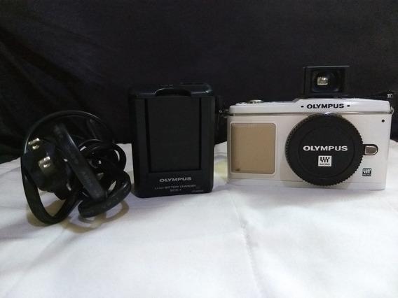 Câmera Olimpus Ep-1 + View Finder Pouco Usada