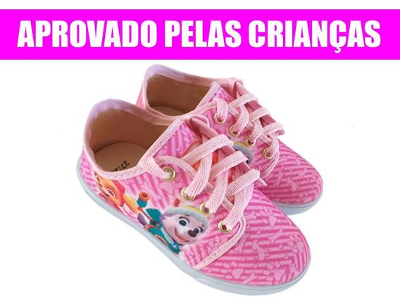 Tênis Infantil Patrulha Canina Menina Super Promoção R01