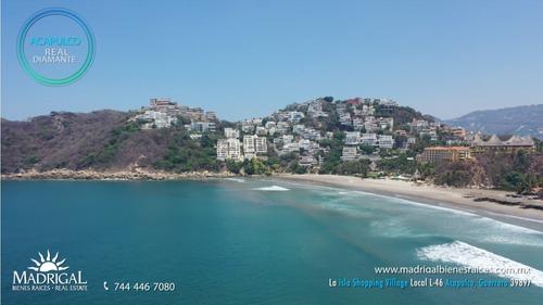 Imagen 1 de 14 de Villas Quinta Del Mar En Acapulco, Departamento En Playa