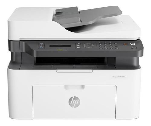 Impresora Hp Laser Mfp 137fnw (4zb84a)