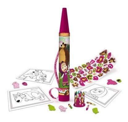 Mega Crayon Masha Y El Oso Tapimovil 2909