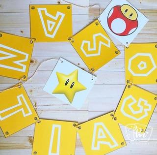 Banderines, Candybar Cumpleaños Decoracion
