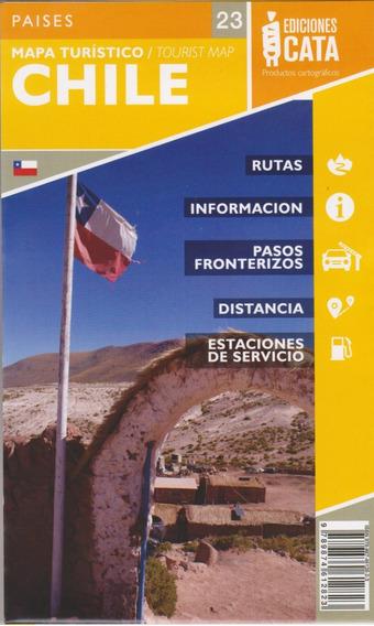 Mapa Do Chile Rodoviário