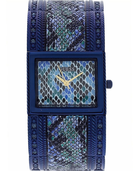 Relógio Feminino Guess 92572lpgtea1 Azul Estampado