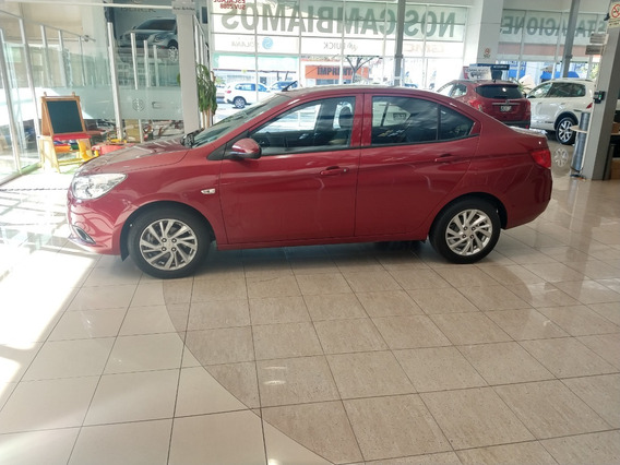 Chevrolet Aveo Paq. C Lt Manual 2018 Rojo Cereza