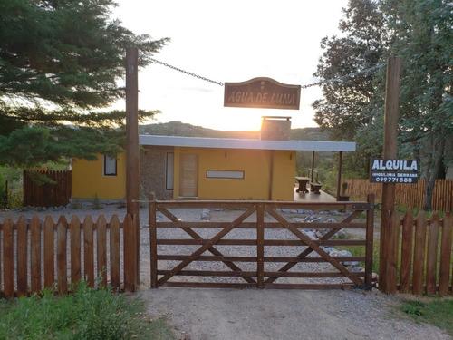 Imagen 1 de 14 de Se Alquila Casa  En Villa Serrana  Agua De Luna