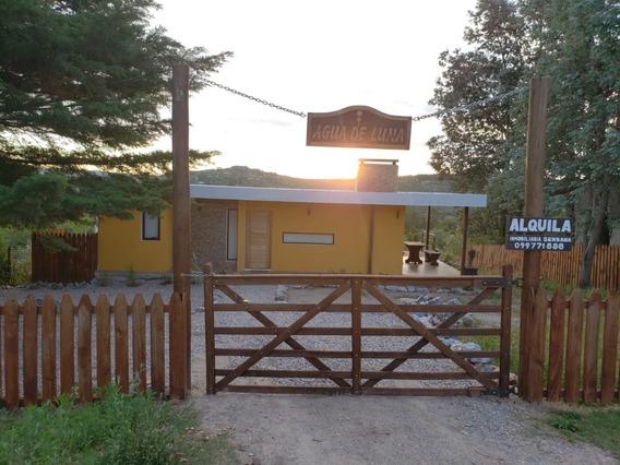 Se Alquila Casa En Villa Serrana Agua De Luna