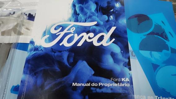Manual Do Proprietário Do Novo Ford Ka 2018/2019/2020 Novo