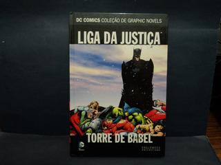 Livro: Dc Graphic Novels. Liga Da Justiça. Torre De Babel