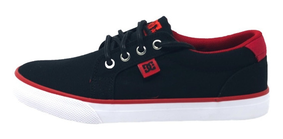 Tenis Dc Council Tx Black/red Importados 100% Originales