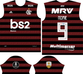 Vetor Camisa Flamengo 2019 + Fonte By Rj Designer