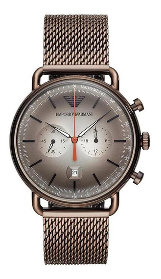 Relógio Emporio Armani Masculino Aviator Grafite Ar11169/1cn