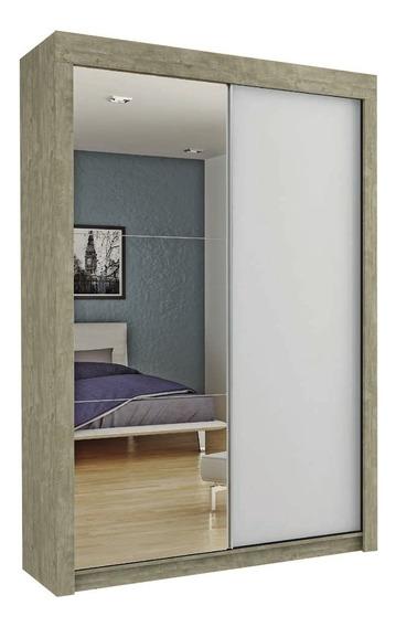 Placard Con Espejo Puertas Corredizas 100% Mdp