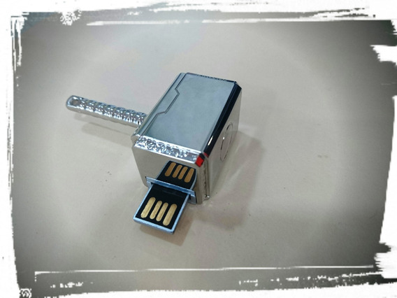 Memoria Usb 2.0 Usb De 16 Gb En Forma De Martillo De Thor