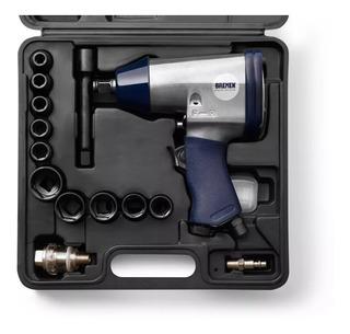 Llave Pistola Impacto Neumatica Enc 1/2 Bremen® 3388 17 Pzas