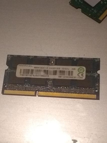 Memoria Ram Notebook 2 Gb Ddr3 Ramaxel