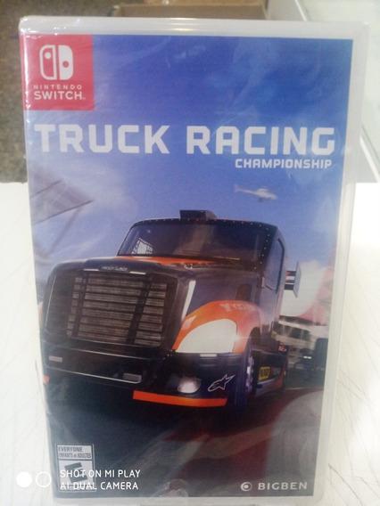 Jogo Truck Racing Championship Nintendo Switch Novo M Fisica