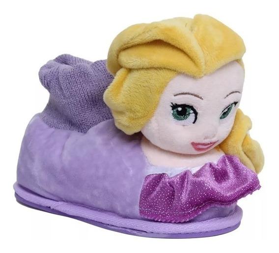 Pantuflas Addnice Princesa Rapunzel Disney Peluche