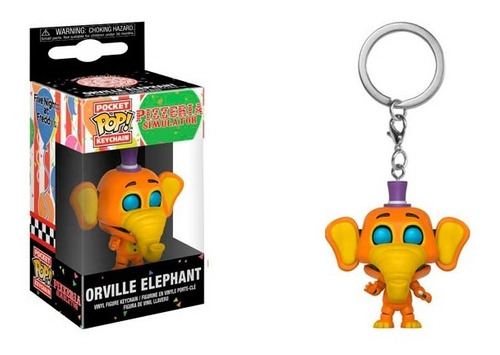 Funko Pop Keychain Five Nights At Freddys Orville Vdgmrs