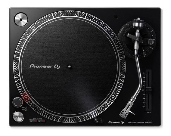 Par De Toca-discos Pioneer Plx-500 Com Pouco Uso