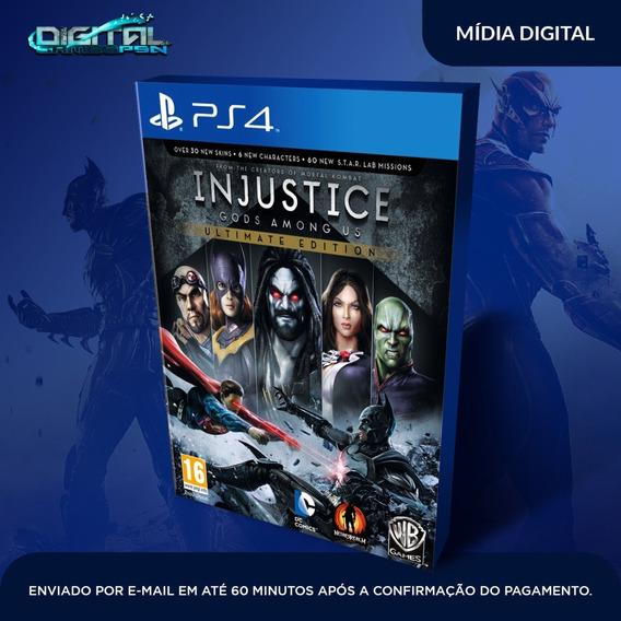 Injustice Gods Among Us Em Inglês Ps4 Mídia Digital Psn