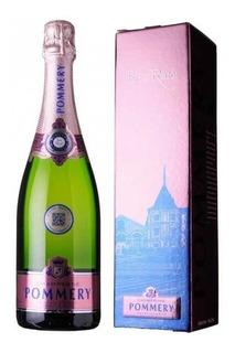 Champagne Pommery Rosé Con Estuche Original Francia