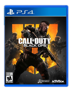 Call Of Duty Black Ops 4 Juego Ps4 Cd Fisico Original Full