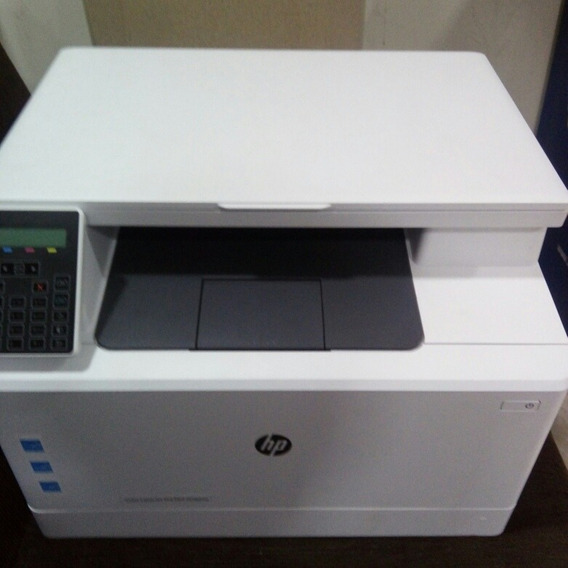 Impressora Hp M180nw 110v P/ Retirada De Peças, Com Toner Bom