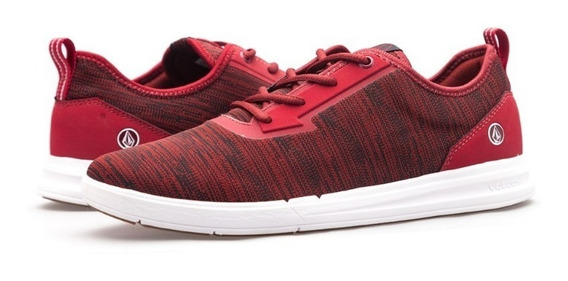 Zapatilla Volcom Draft Pro Red Combo