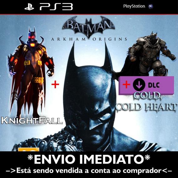 Batman Arkham Origins + Dlc Cold, Cold Heart - Psn Ps3!