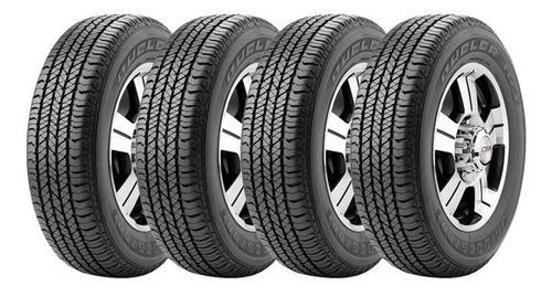 Combo X4 265/60 R18 Bridgestone Ht684 Ii + Envío Gratis