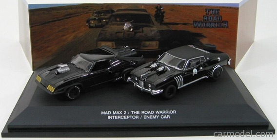 Mad Max 2 The Road Warrior Interceptor And Enemy Set 1:43