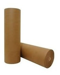 Papel Semi Kraft Rolo Bobina 45cm 1,5kg Embalagem Gaiola
