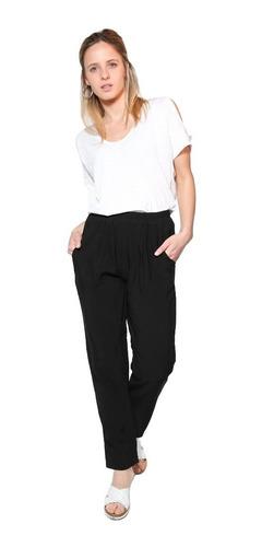 Pantalon Babucha Tiro Alto Fibrana Mujer Verano Mercado Libre