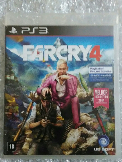 Far Cry 4 Ps3 Mídia Física
