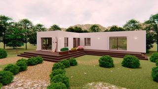 Casa Prefabricada Progresiva Ecowall 53/107m2 Llave En Mano