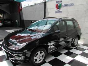 Peugeot 206 - 2007 Feline Sw 1.6 16v Flex Completo Top Novo