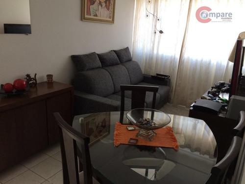 Apartamento À Venda, 48 M² Por R$ 280.000,00 - Gopoúva - Guarulhos/sp - Ap5211