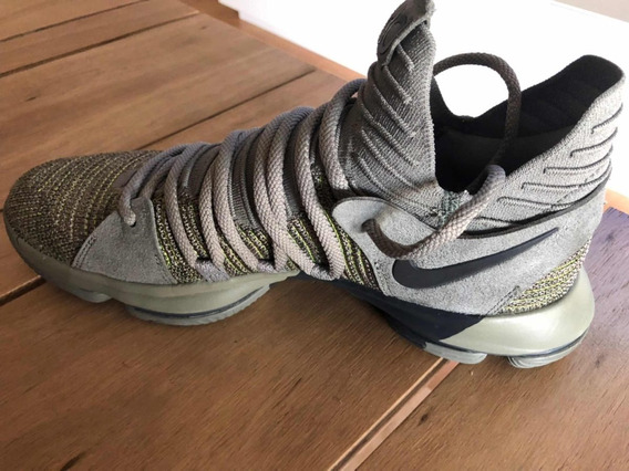 Nike Kevin Durant Kd10 Veterans Talle 10.5 Nuevas Sin Caja